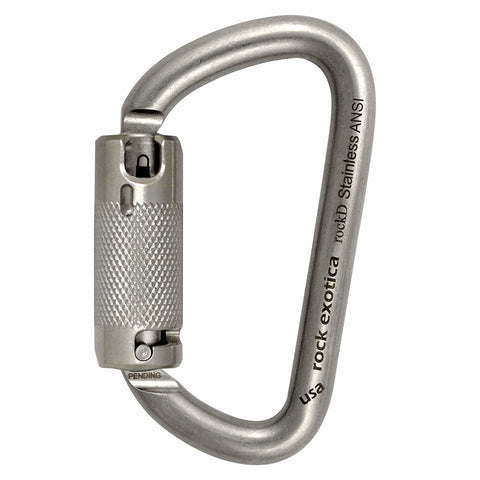 Rock Exotica RockD Stainless Steel ANSI - Elevated Climbing