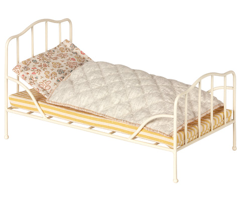 Cama de metal vintage para mini - blanco - Miss Coppelia