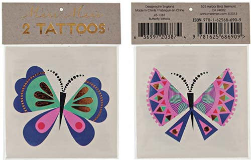 Tattoos - Butterfly - Miss Coppelia