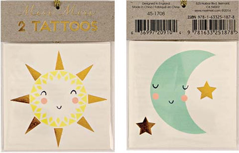 Tattoos - Sun & Moon - Miss Coppelia