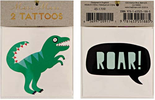 Tattoos - Dinosaur - Miss Coppelia