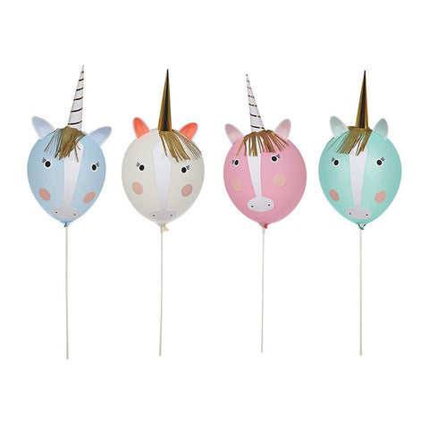 Kit globos unicornio - Miss Coppelia