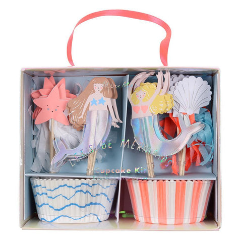 Sirenas - cupcake kit