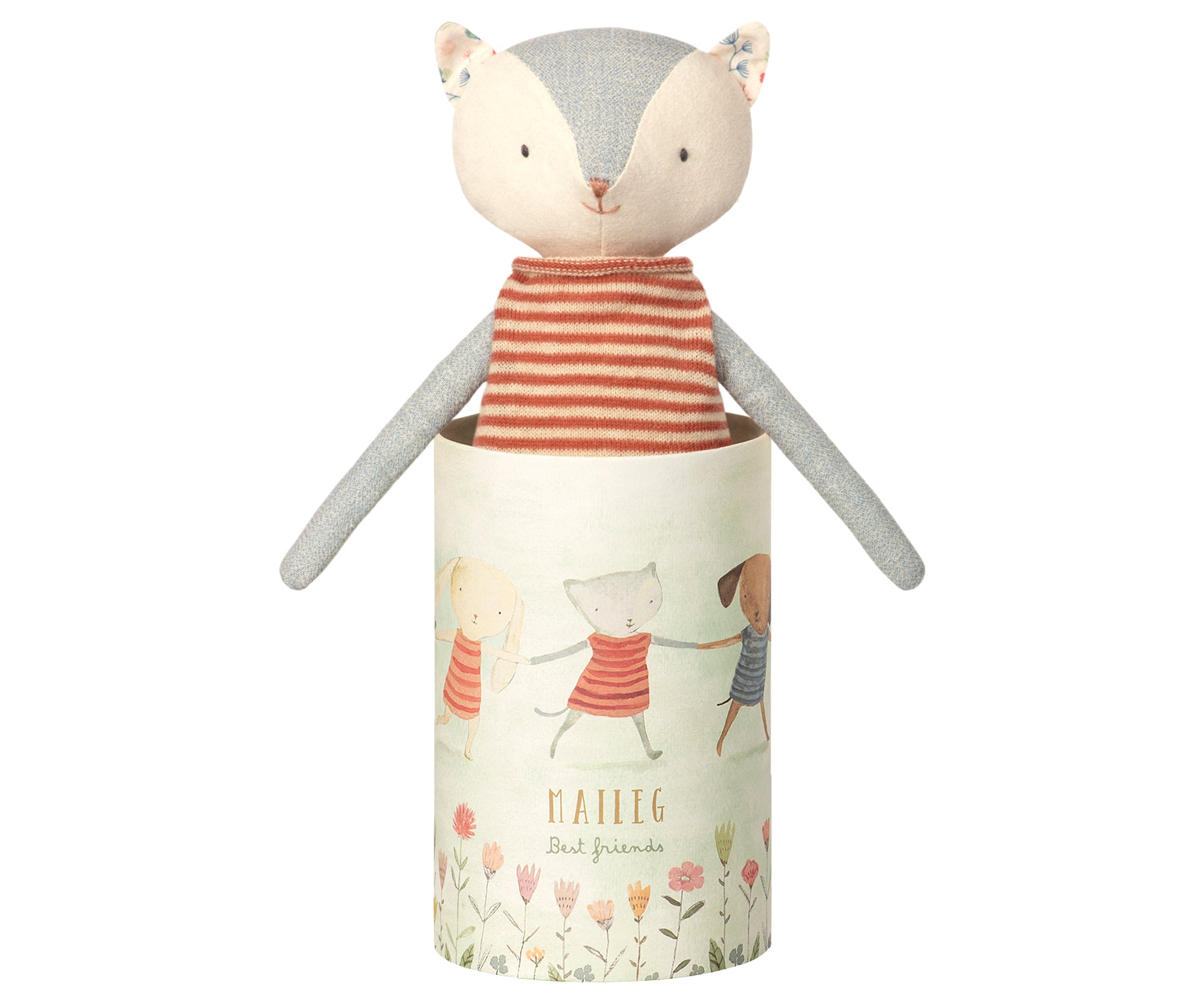 Gatito Best Friend en tubo decorado - Miss Coppelia