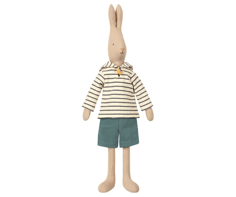 Conejito sailor casaca blanca talla 3 (rabbit, 49 cm) - Miss Coppelia