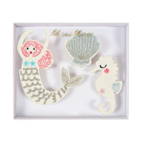 Broches - sirena - Miss Coppelia