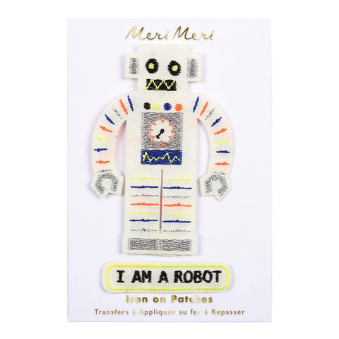 Parches de planchar - Robot - Miss Coppelia