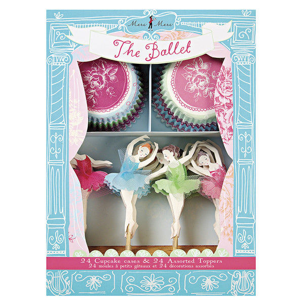 Little Dancers cupcake kit - Miss Coppelia