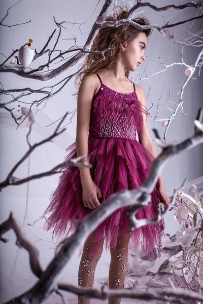 Tutu Du Monde Vestido de tul Queen of the vines - blackberry