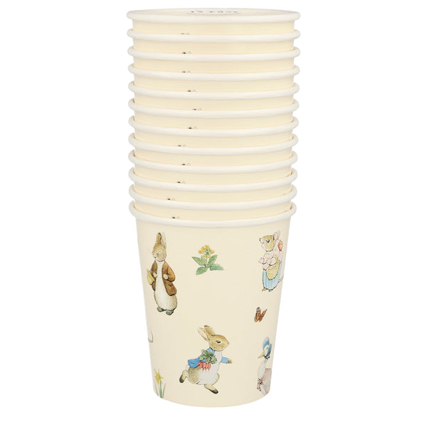 Peter Rabbit & friends - 10 vasos - Miss Coppelia