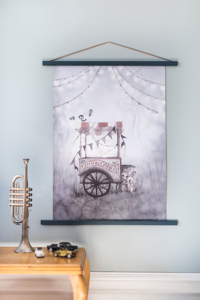 COTTON CANDY  - 50x70 - Miss Coppelia