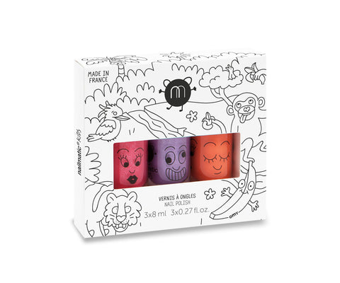 Nailmatic - Pack de esmalte de uñas JUNGLE