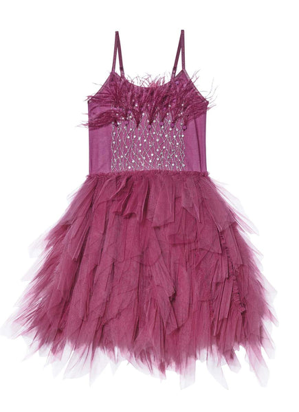 Tutu Du Monde Vestido de tul Queen of the vines - blackberry - Miss Coppelia