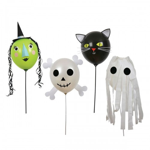 Globos iconos de Halloween - Miss Coppelia