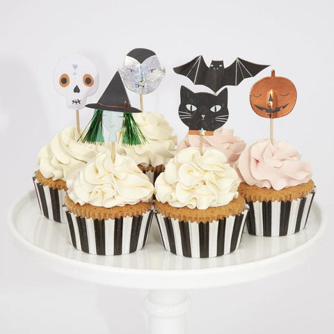 Iconos de Halloween - cupcake kit