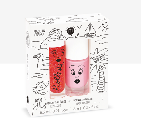 Nailmatic - DUO esmalte y brillo de labios HOLIDAYS