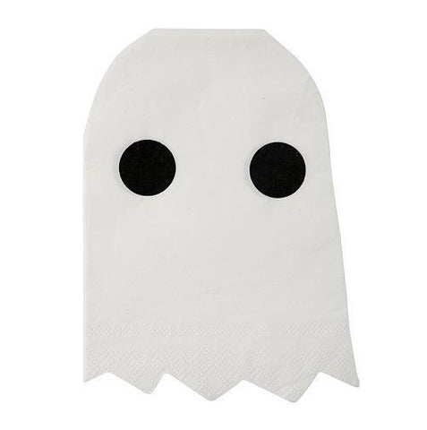 Servilletas Iconos de Halloween - fantasma - Miss Coppelia