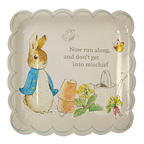 Peter Rabbit - 12 platos grandes - Miss Coppelia