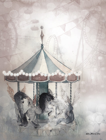 PACK LOLA + LOST CAROUSEL 18X24 - Miss Coppelia