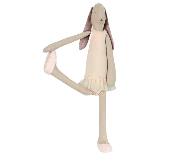 Conejita Ballerina Rose (medium bunny 45cm) - Miss Coppelia