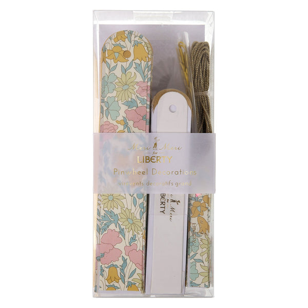 Molinillos decorativos - Liberty poppy & daisy - Miss Coppelia
