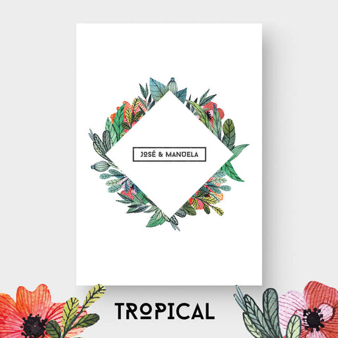 Invitación Tropical
