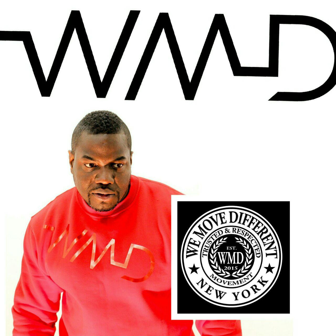 WMD- Red on Red sweat shirt