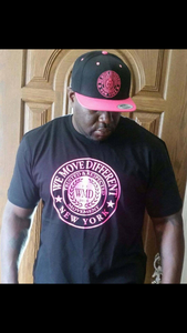 WMD-Pink Seal black T-Shirt