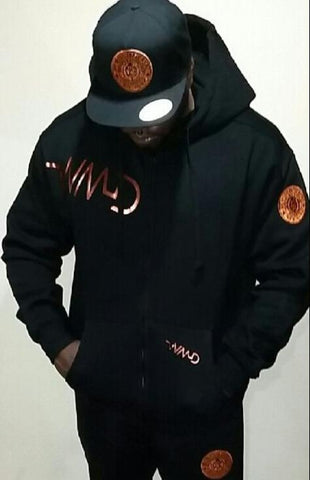WMD-Copper Zip up Sweatsuit