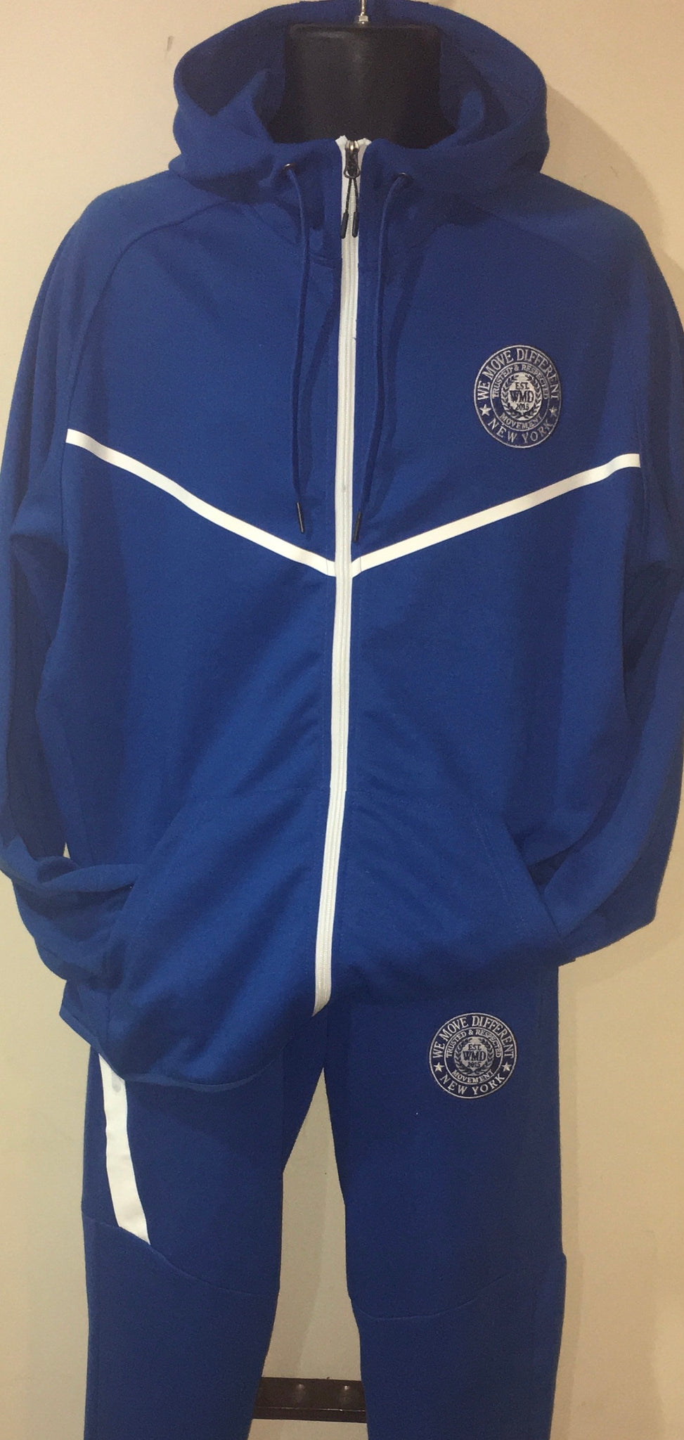 Royal Blue Jogger Suit