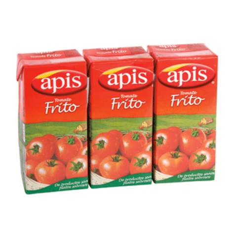 APIS tomate frito pack 3 unidades 400 gr