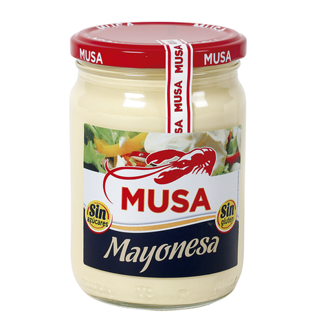 MUSA mayonesa frasco 450 ml