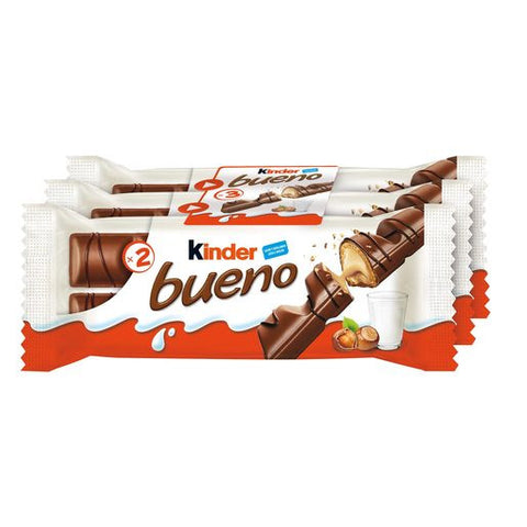 KINDER Bueno chocolate pack 3 unidades