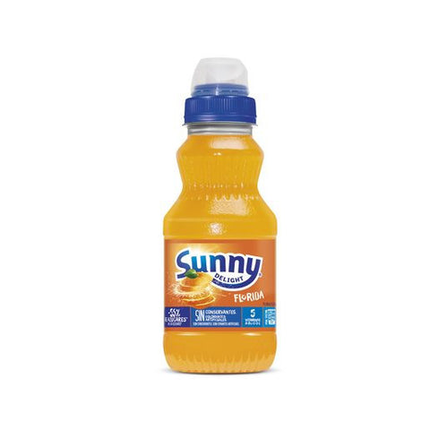 SUNNY DELIGHT sabor florida botella 310 ml