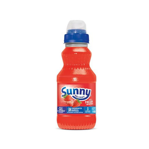 SUNNY DELIGHT sabor fresa botella 310 ml