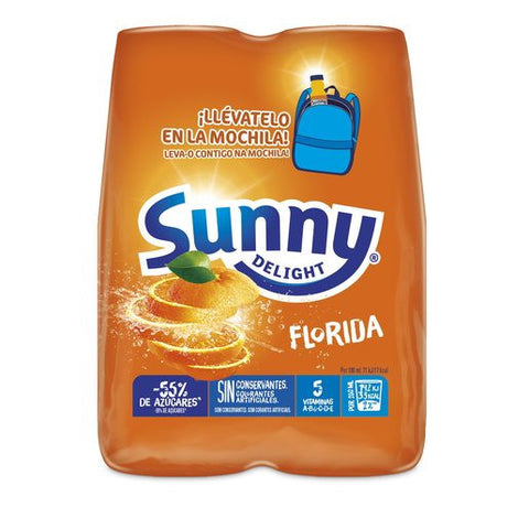 SUNNY DELIGHT florida pack 4 unidades x 200 ml