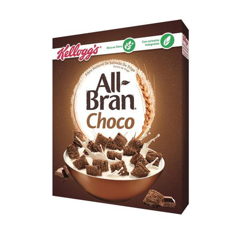 KELLOGS cereales all-bran chocolate paquete 375 gr