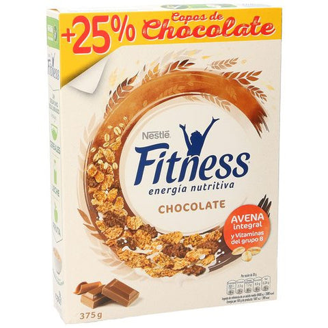 NESTLE cereales Fitness chocolate paquete 375 gr