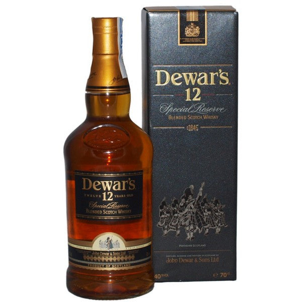 Whisky W. Label 12 años