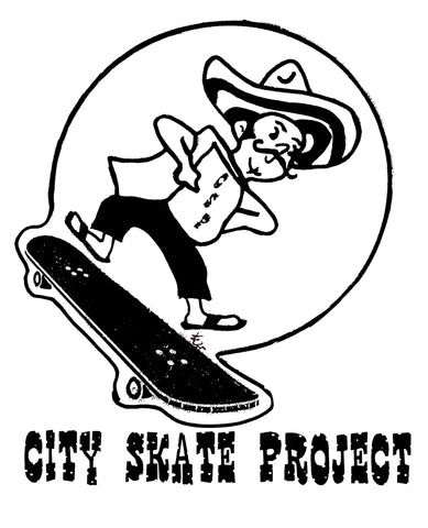 CSP Mexican Sk8 T-Shirt - *Print on Demand