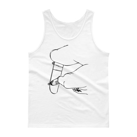 City Skate Project Keep Pushing Tank top
