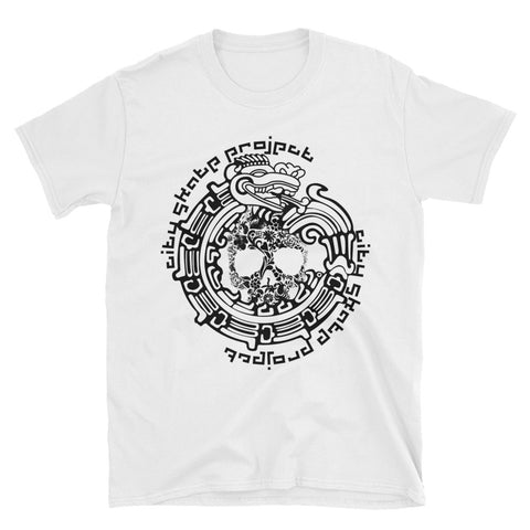 Aztec Dragon CSP Skateboarding Short-Sleeve Unisex T-Shirt