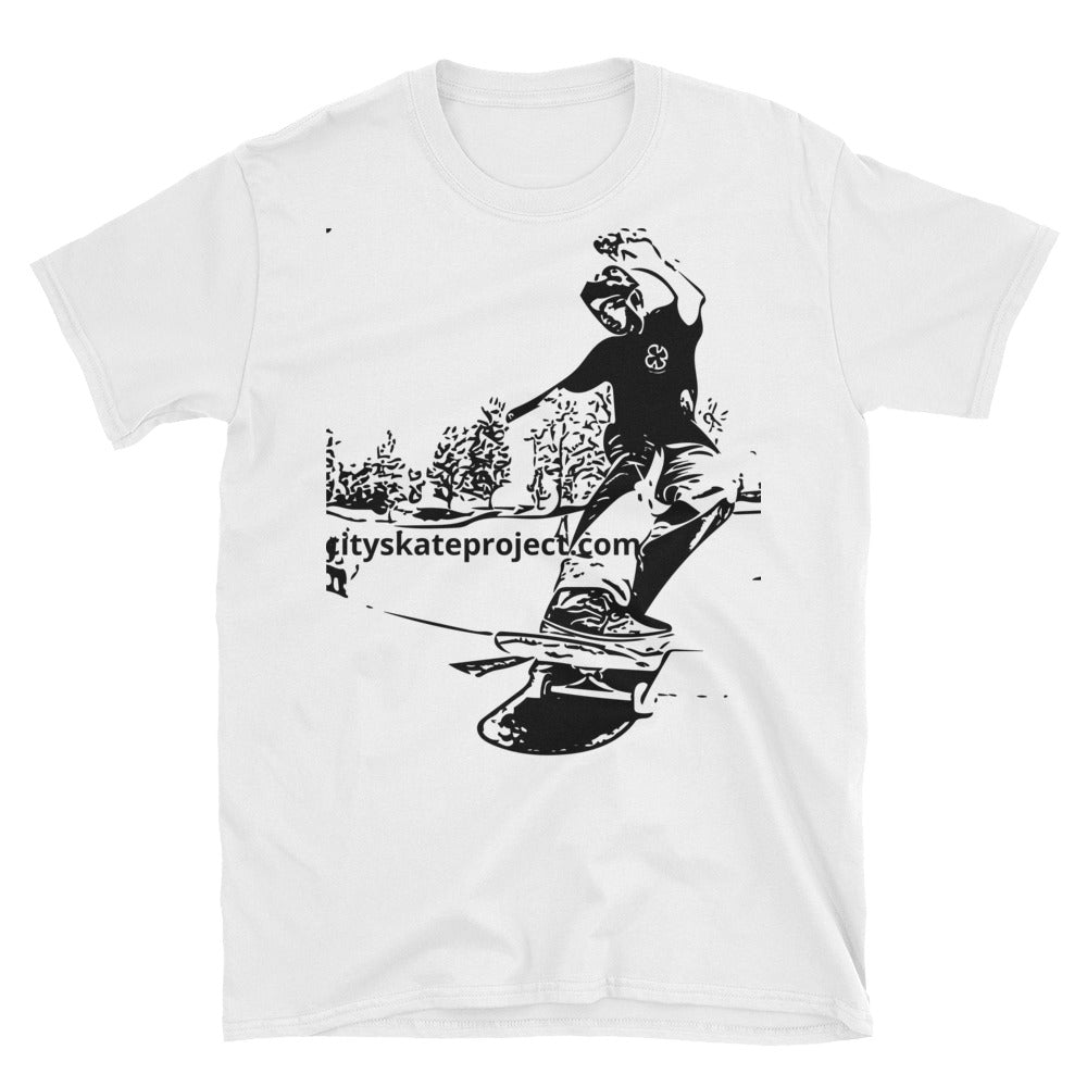 Skateboard Stall Short-Sleeve Unisex T-Shirt