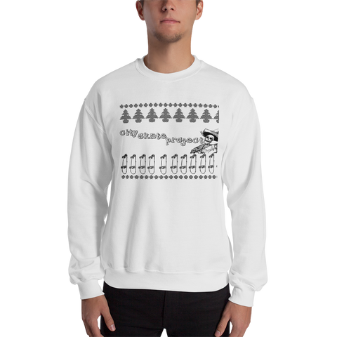 City Skate Project Sweatshirt Ugly Sweater