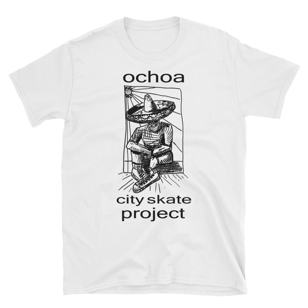 Ochoa Skateboarding Graphic Short-Sleeve Unisex T-Shirt