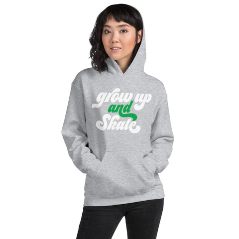 CSP Grow Up and Skate Logo Hoodie