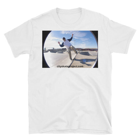 El Jefe Short-Sleeve Skateboarding T-Shirt