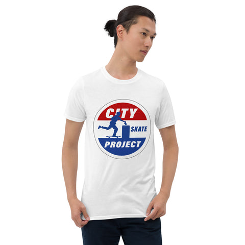 Go Vote Skateboarding T-Shirt
