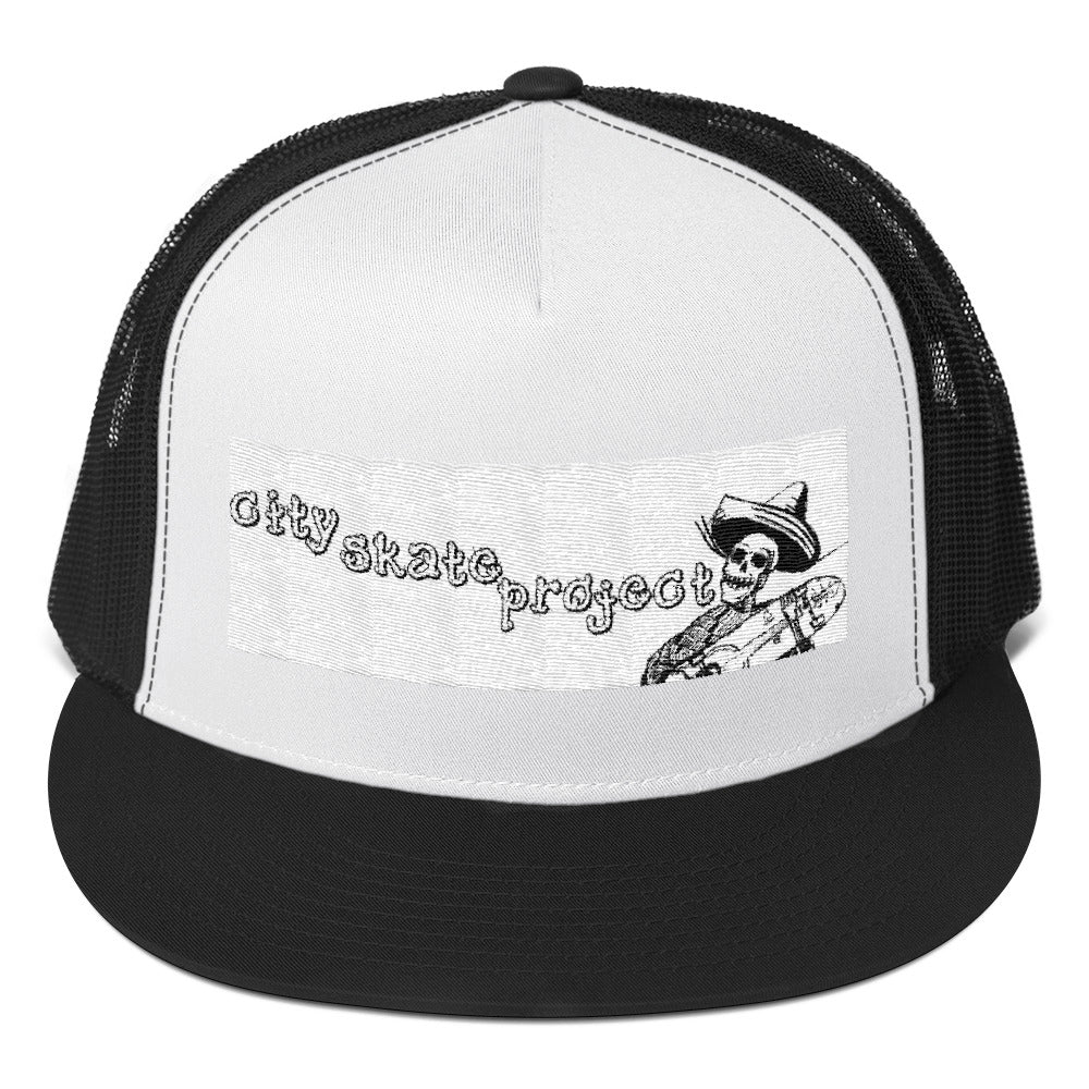 OG LOGO City Skate project Trucker Cap