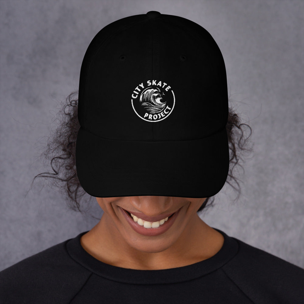 City Skate Project Wave Dad hat